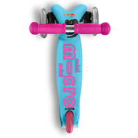 Mini Micro scooter Deluxe Turquoise/pink