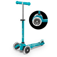 Mini Micro scooter Deluxe aqua LED