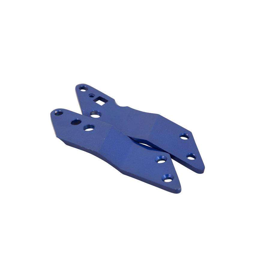 Holder plates Flex Blue 200mm scooter (1383)