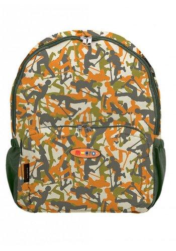 Maxi Micro rugzak camouflage