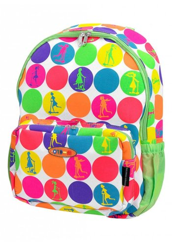 Maxi Micro backpack neon dots