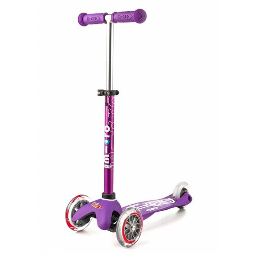 Mini Micro scooter Deluxe Purple