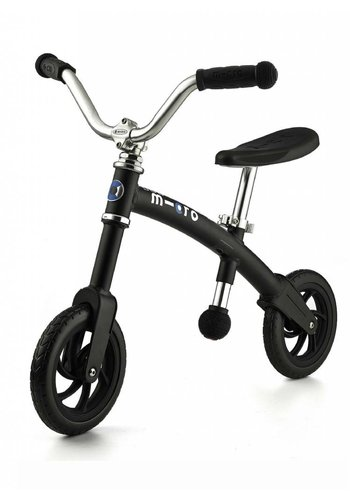 Micro Balance Bike Chopper Matt Black