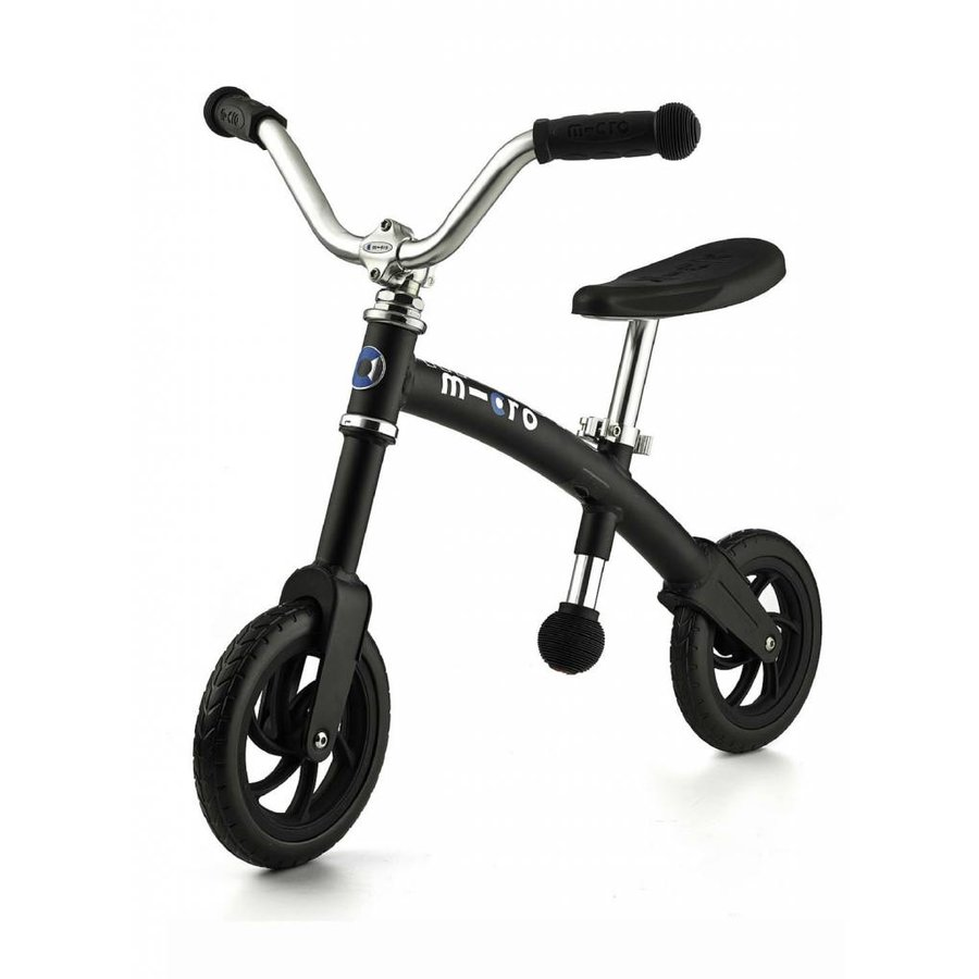 Micro balance Bike G-bike+ Chopper Matt Black