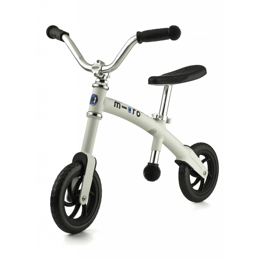 Micro Balance Bike G-bike+ Chopper Matt White