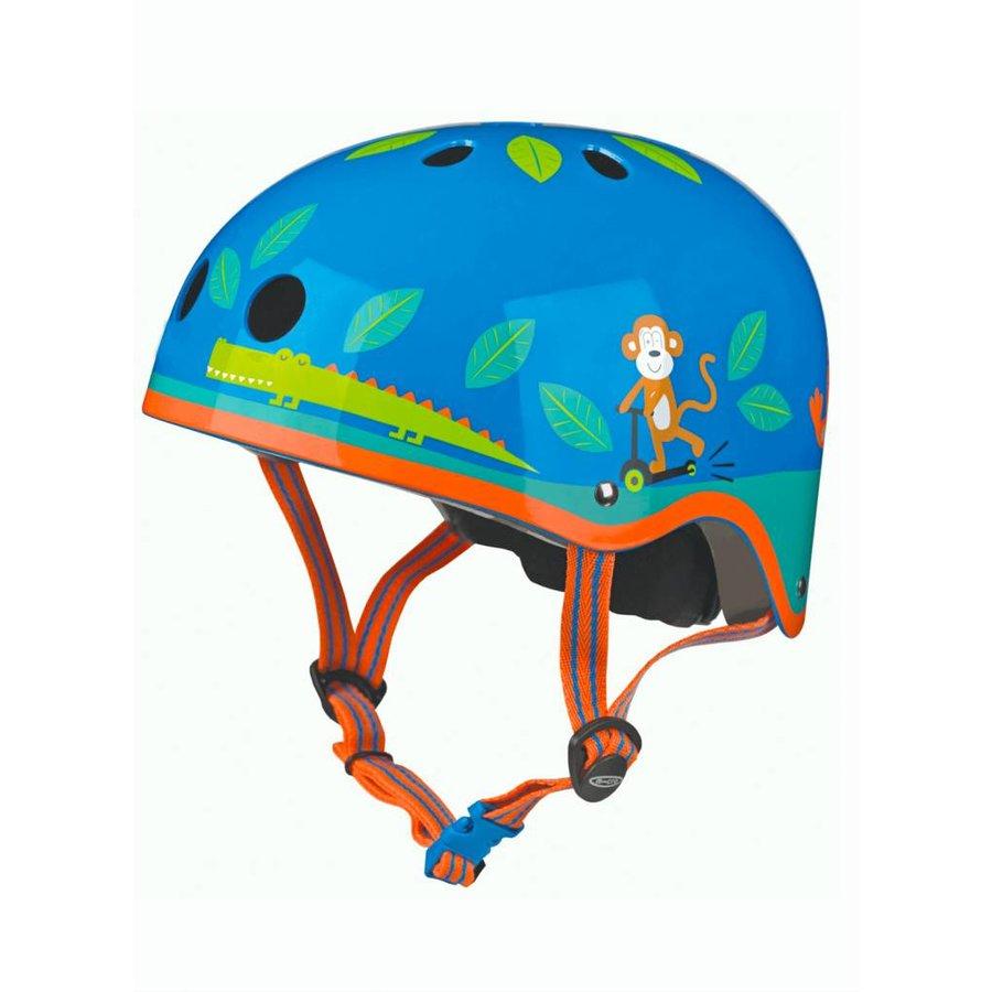 Micro helmet jungle print
