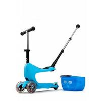 Micro Mini2go Deluxe Push blauw