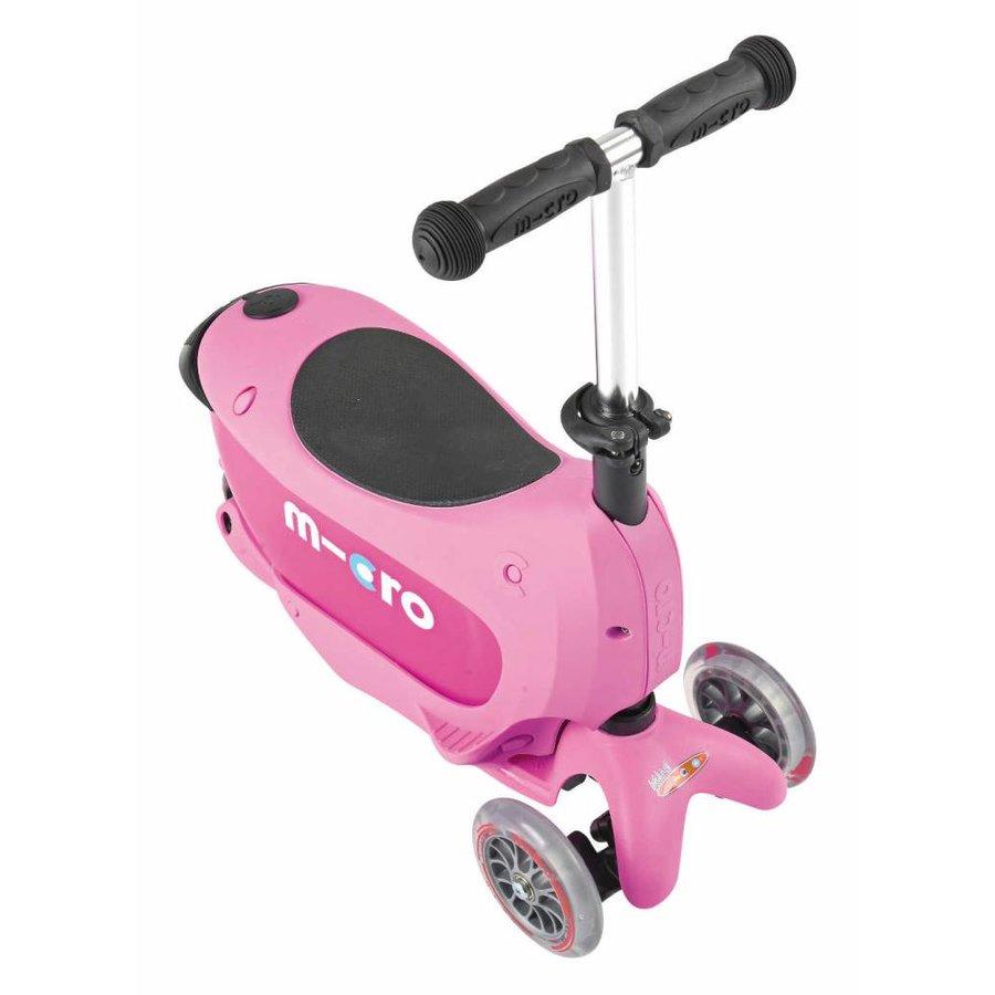 Micro Mini2go Deluxe Push roze