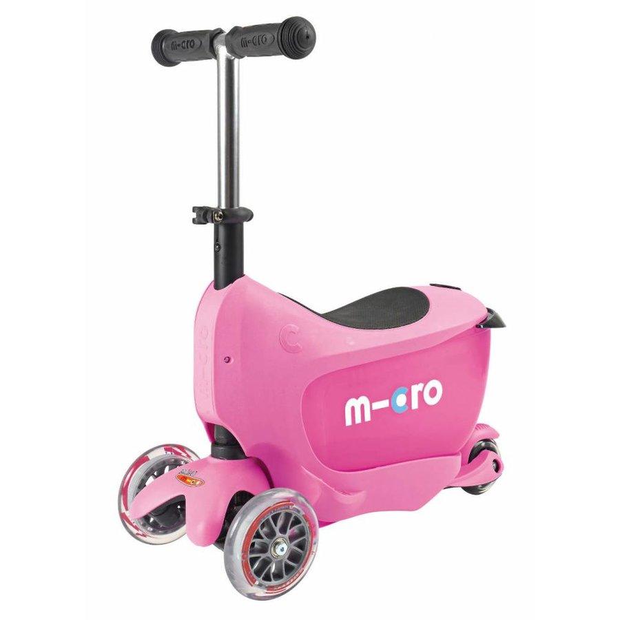 Micro Mini2go Deluxe Push Pink