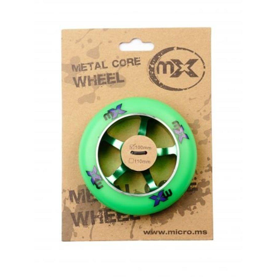 Micro MX 100mm Metal Core stuntwiel (MX1211)