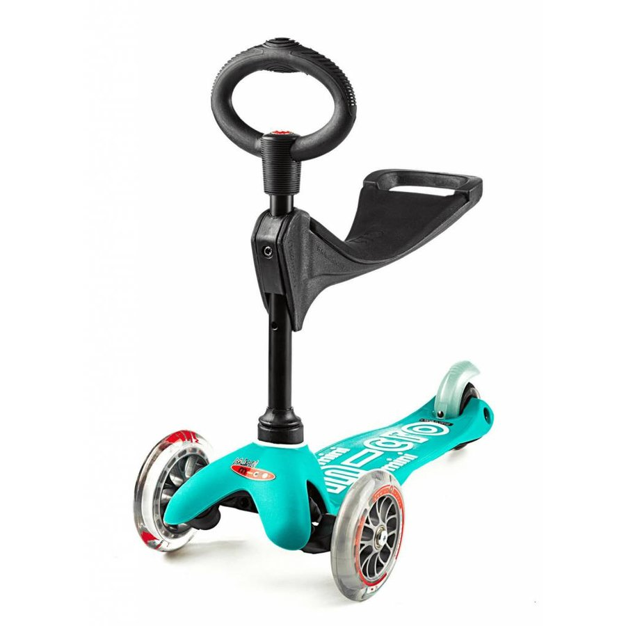 Mini Micro scooter 3in1 Deluxe Aqua