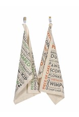 Army Slang Tea Towel