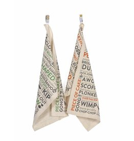 Army Slang Tea Towel
