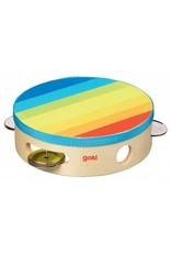 Goki Goki Rainbow Tamborine