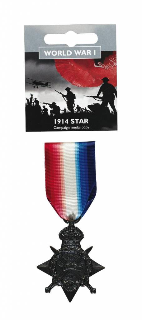 1914 Star Full Size Medal Replica