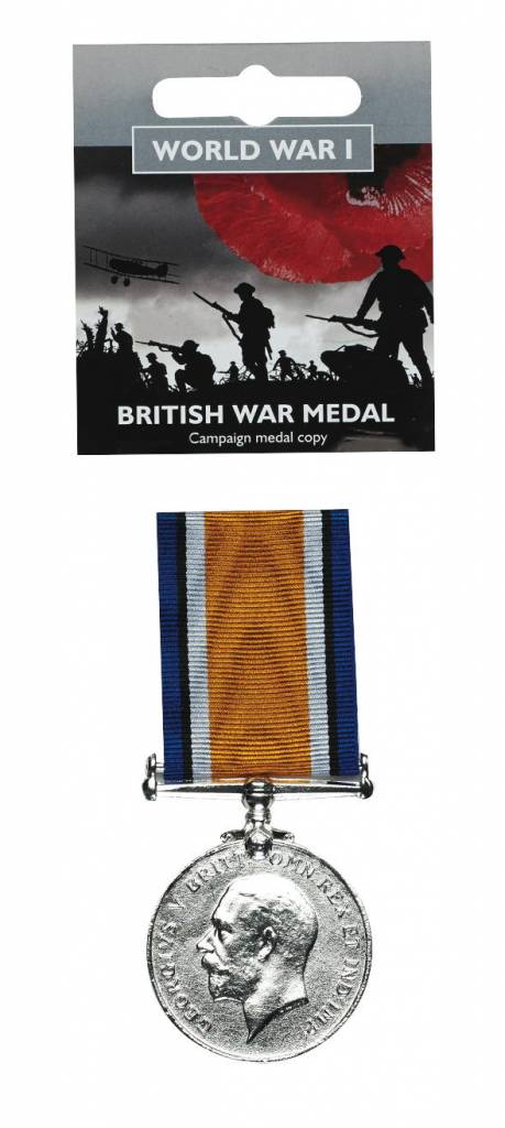Full Size British War Medal Replica