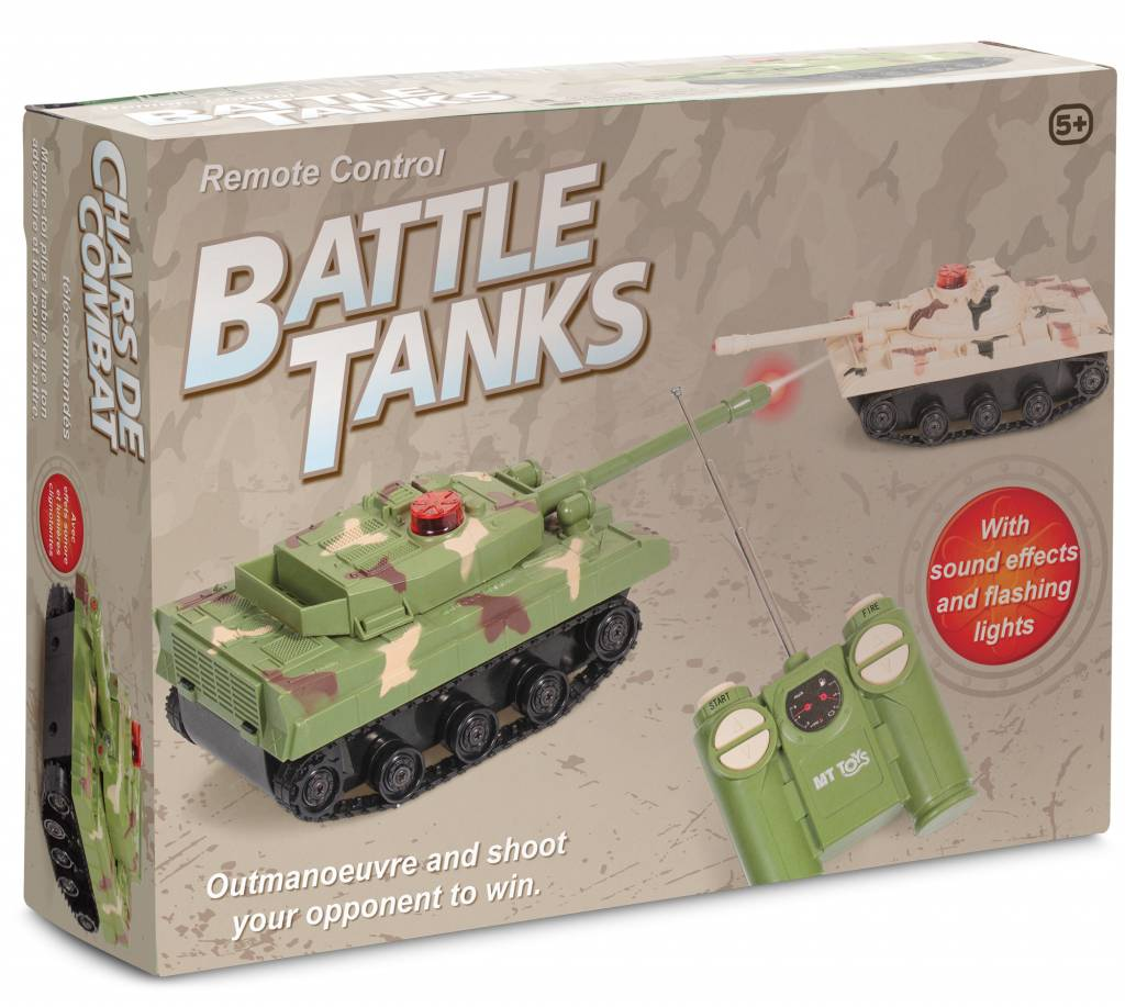 Remote Control Battle Tanks