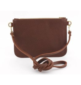 Esme Leather Clutch