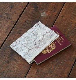 Silk Map Passport Cover