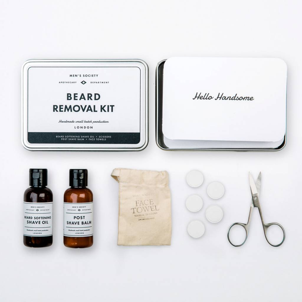 Men's Society Men's  Society Beard Removal Kit