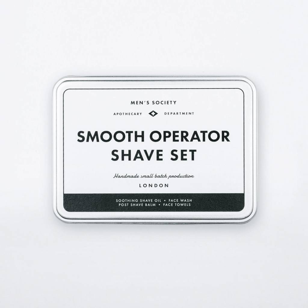 Men's Society Men's Society Smooth Operator Shave Set