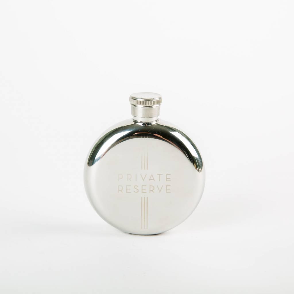 Men's Society Mens Society Hip Flask Private Reserve 3oz