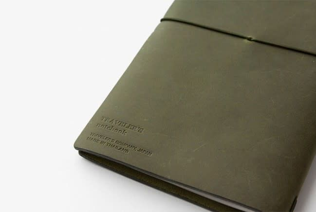 Traveler's Company Notebook Olive Edition LTD EDT