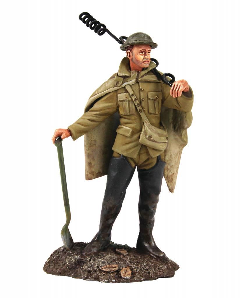 W Britain: 1916 British Infantry in Poncho