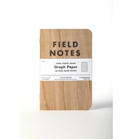 Field Notes Cherry Wood Notebooks