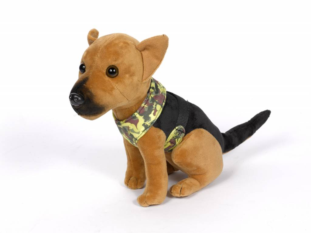 Monty the Para-Dog Soft Toy