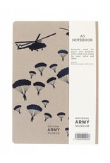 National Army Museum Helicopter Foil Note Book