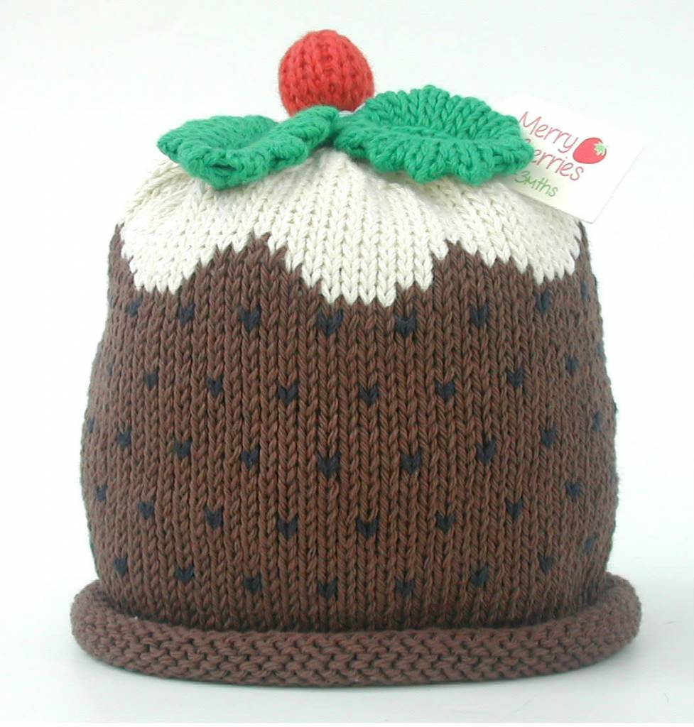 b437f6f278c7d Christmas Pudding Hat ...