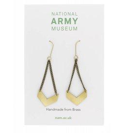 Just Trade Chevron Earrings