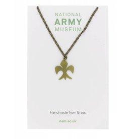 Just Trade Fleur de lys Necklace
