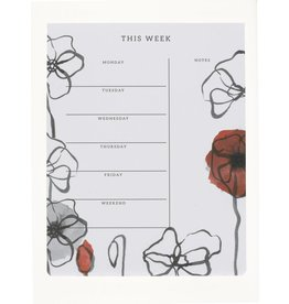Poppy Weekly Planner
