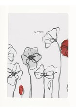 Field Poppy Notebook