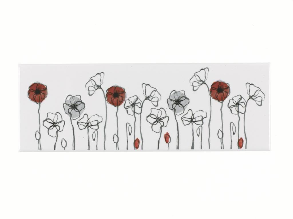 Field Poppy Magnet