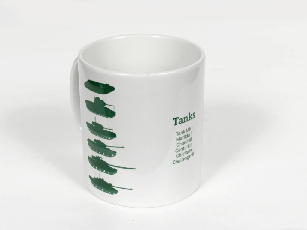 Stacked Tank Mug