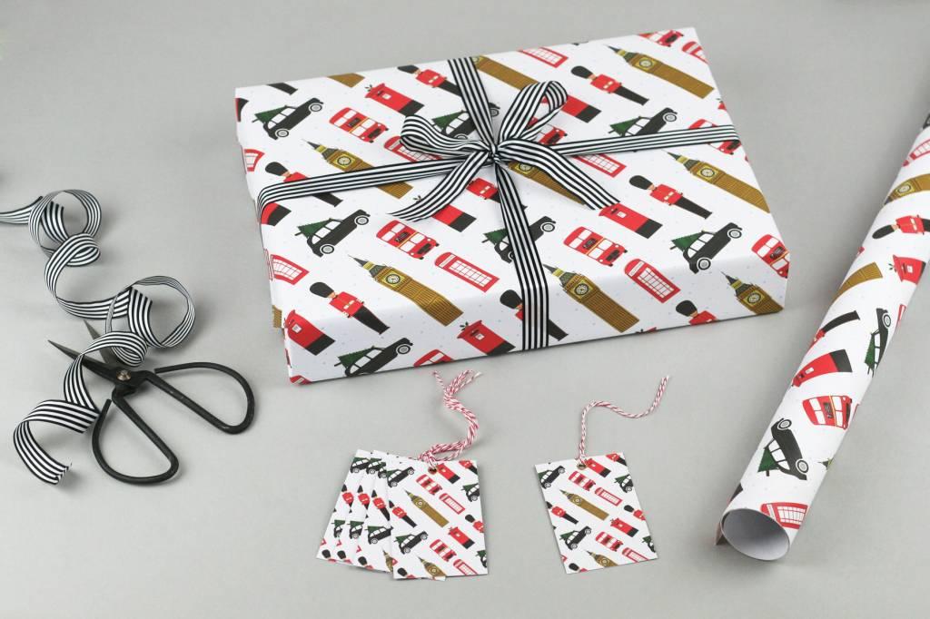 Nancy & Betty London Christmas Wrapping Paper