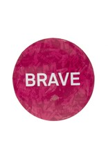 Special Forces Button Badge Pink Brave