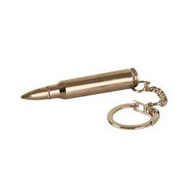 556 Brass Bullet Keyring