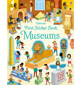First Sticker Book Museums Author Holly Bathie