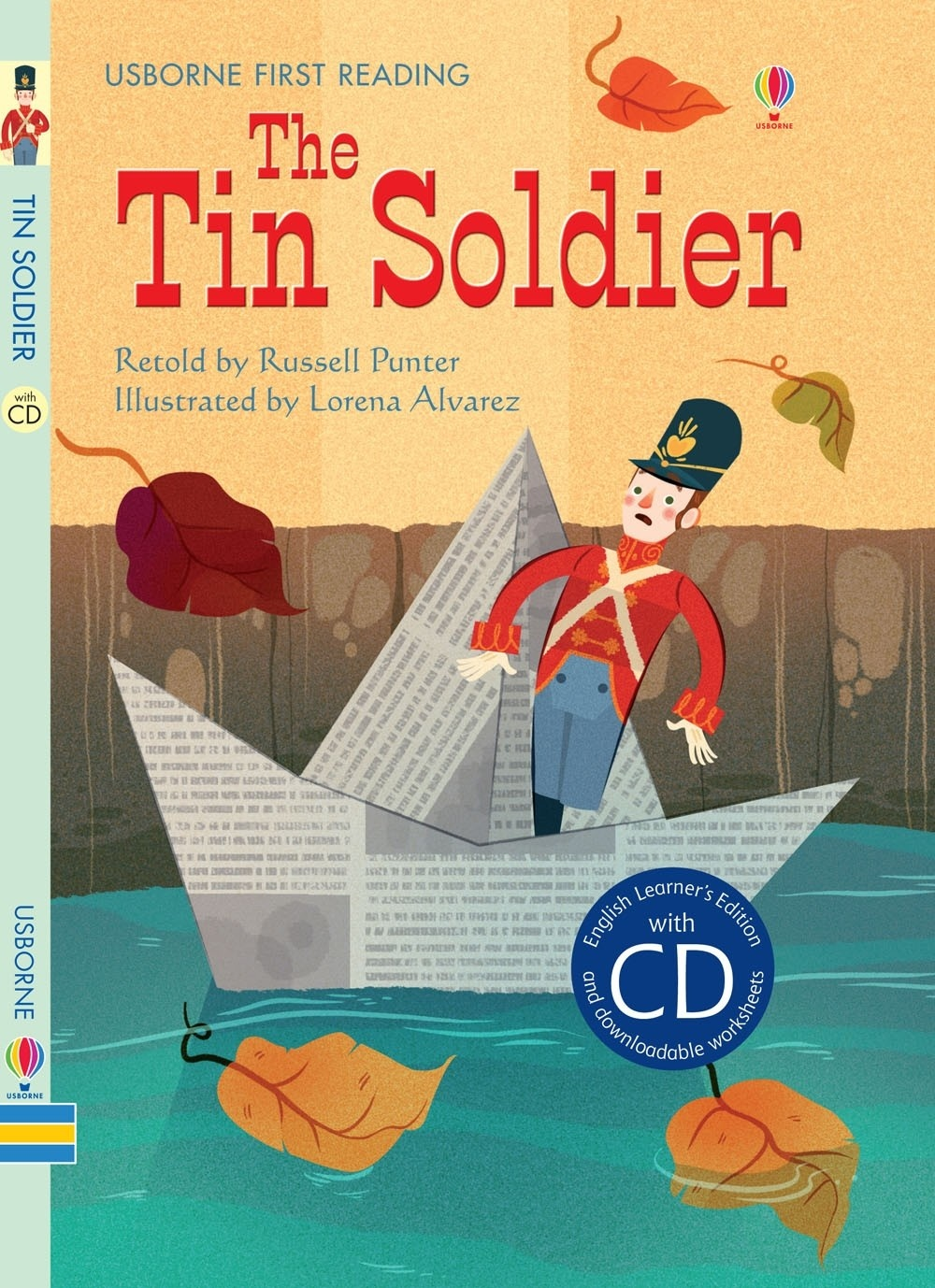 The Tin Soldier with Audio CD Author Russell Punter