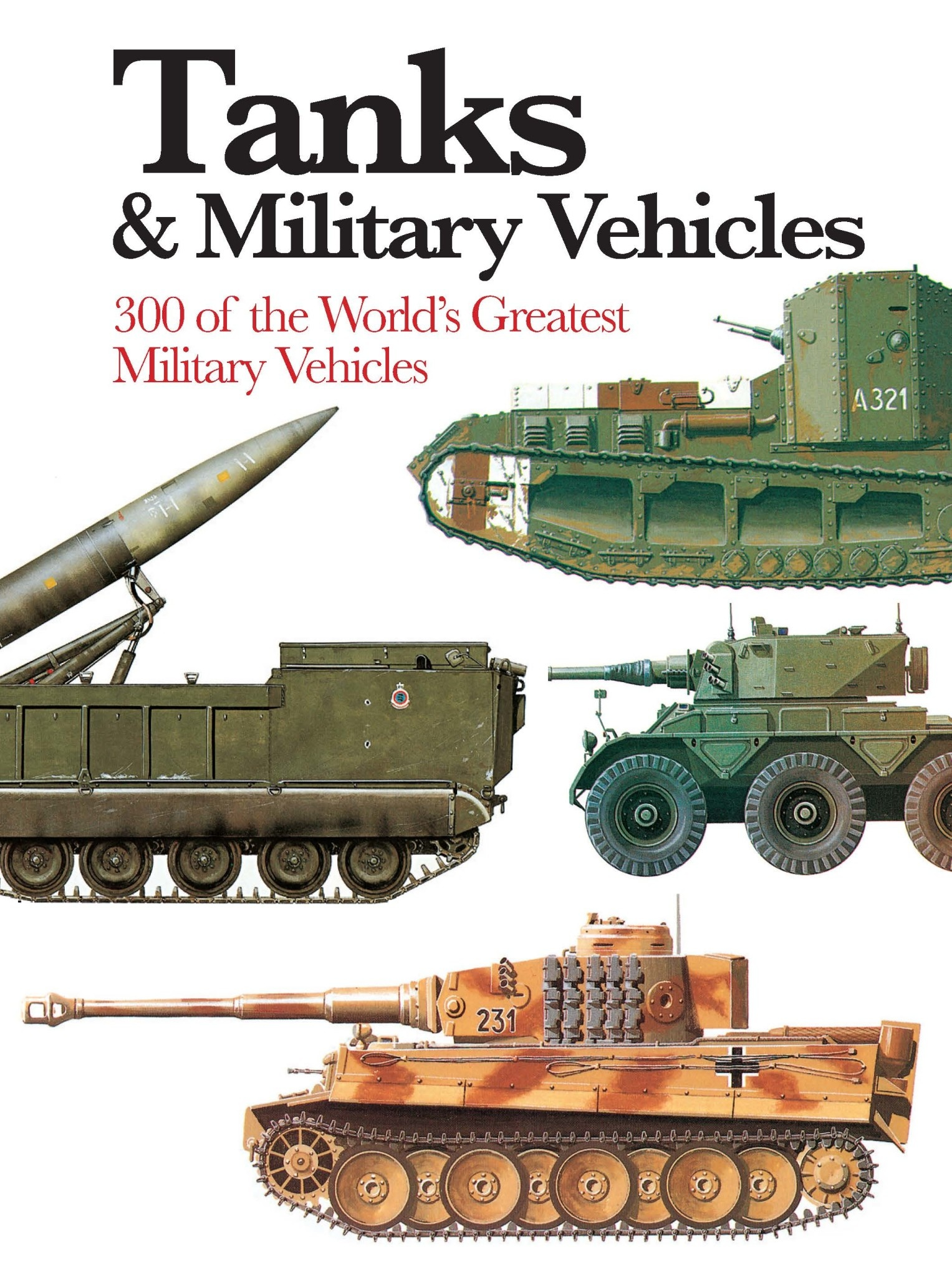 Tanks and military Vehicles Author Phillip Trewhitt