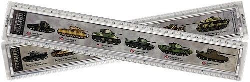 Tank Ruler 30cm