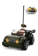 Sluban Jeep Green