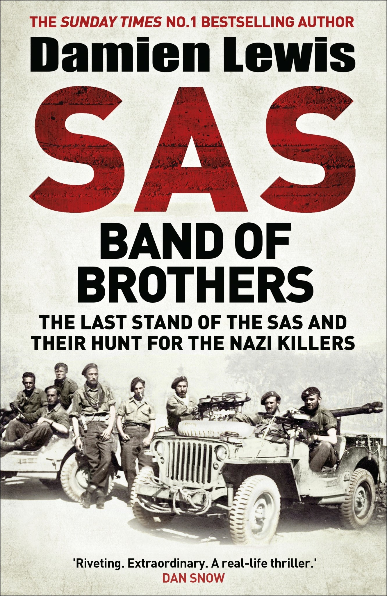 SAS Band of Brothers Author Damien Lewis