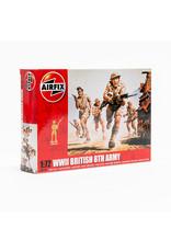 AIRFIX WWII British 8th Army, 1:76