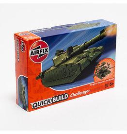 AIRFIX QUICKBUILD Challenger Tank - Green