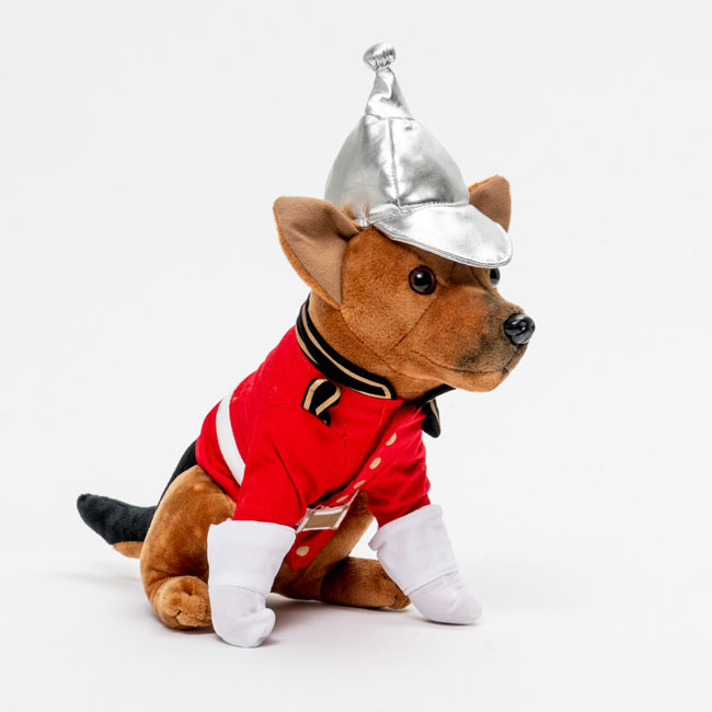 Lifeguard MONTY Dog Soft Toy